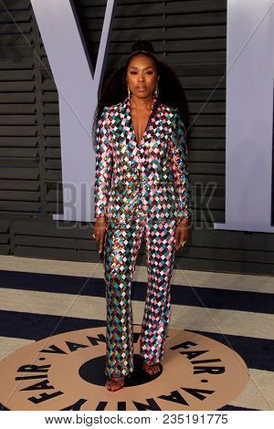LOS ANGELES - MAR 4:  Angela Bassett at the 24th Vanity Fair Oscar After-Party at the Wallis Annenberg Center for the Performing Arts on March 4, 2018 in Beverly Hills, CA