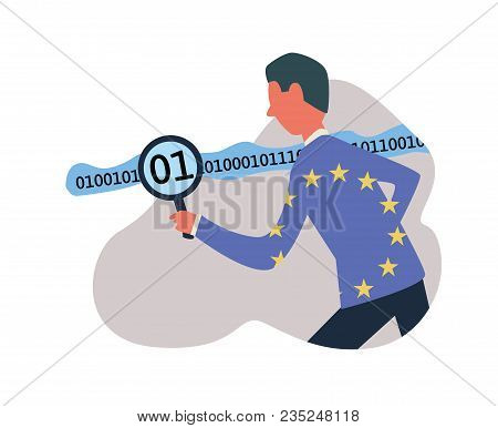 Gdpr, Concept Vector Illustration. General Data Protection Regulation. Dpo, Data Protection Officer