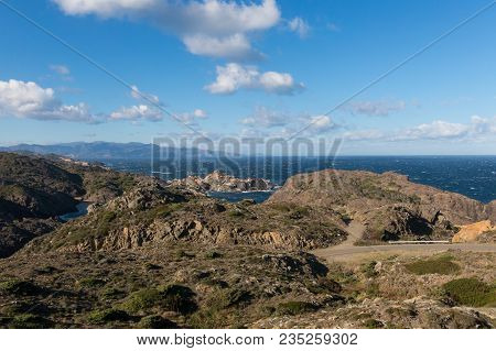 The Cap De Creus Natural Park, The Westernmost Point Of Spain, Where The Sun First Rises. Costa Brav