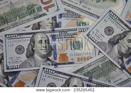 Usd Currency Bill Banknote Background As Financial Business Or World Economy And Stock Investment Co