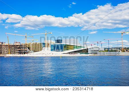 The Oslo Opera House Or Operahuset Is The Home Of The Norwegian National Opera And Ballet Theatre In