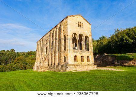Church Of St Mary At Mount Naranco Or Iglesia De Santa Maria Del Naranco Is A Roman Catholic Asturia