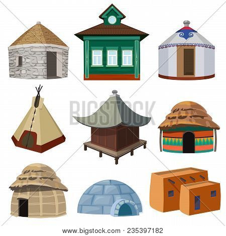 Traditional Buildings Vector Photo Free Trial Bigstock