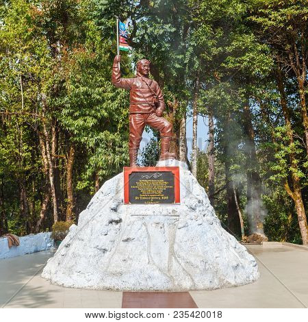 Darjeeling, India - November 18, 2015: Tenzing Norgay Memorial At The Himalayan Mountaineering Insti
