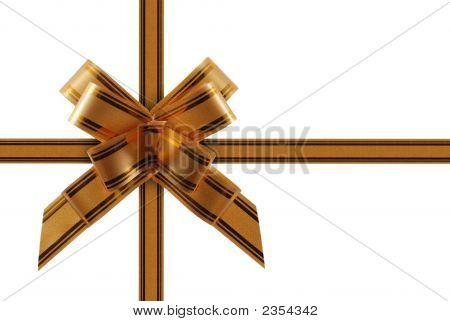 Congratulatory Ribbon Gold