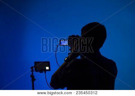 Shooting A Movie, Set, Cameraman, Film Making, Set