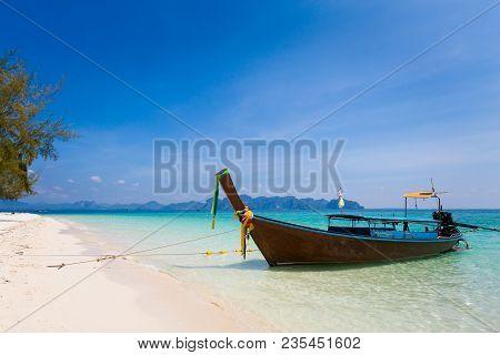 Tropical Landscape Of Koh Poda