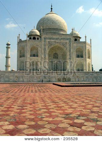 Taj Mahal Odd View