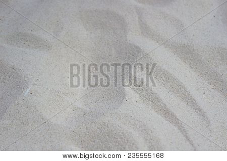Sand Texture. White Sand. Background From Fine Sand. Sand Background