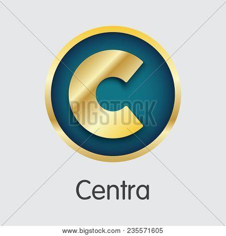 Centra Blockchain Element. Blockchain, Block, Distribution Ctr Transaction Icon