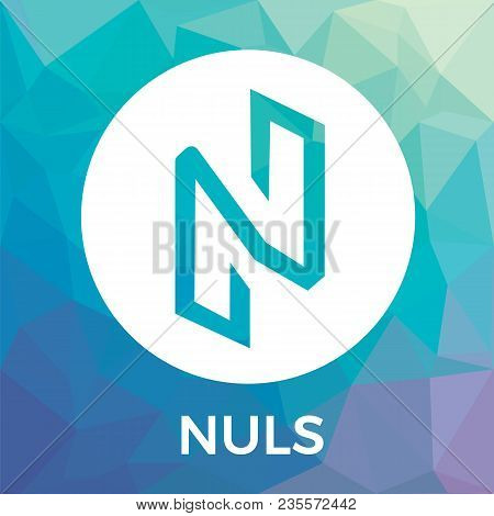 Nuls Vector Logo. Blockchain Open-source Project Which Is A Highly Customizable Modular Blockchain I