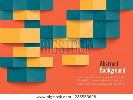 Geometric Texture. Vector Background Can Be Used In Cover Design, Book Design, Website Background, C
