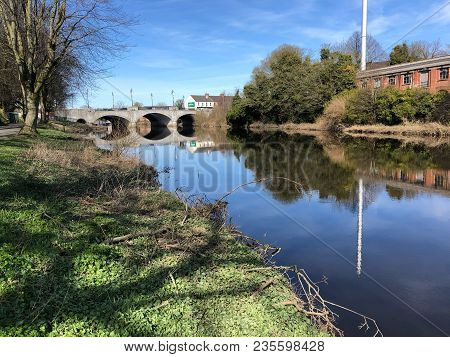 Bridge On The River Bann In Portadown