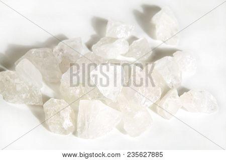 Rock Crystal Or Ice Crystal