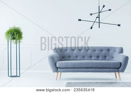 Industrial Indoors With Sofa