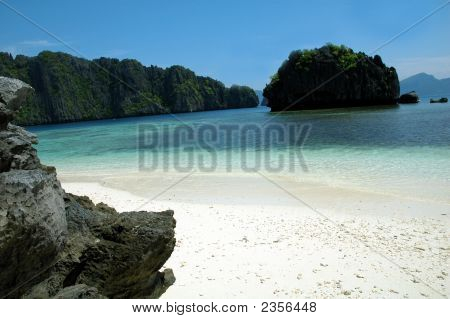 Paradise Beach In Philippines
