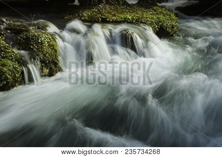 Water Stream. Fast Water Stream. Water Cascade Stream. Cascade. Water. Stream
