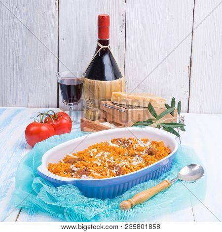 A Fresh And Tasty True  Greek Kritharaki