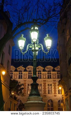 The Lamp Post On Place De Furstenberg, Where Delacroix Decided To Live, Is Famous As One Of The Most