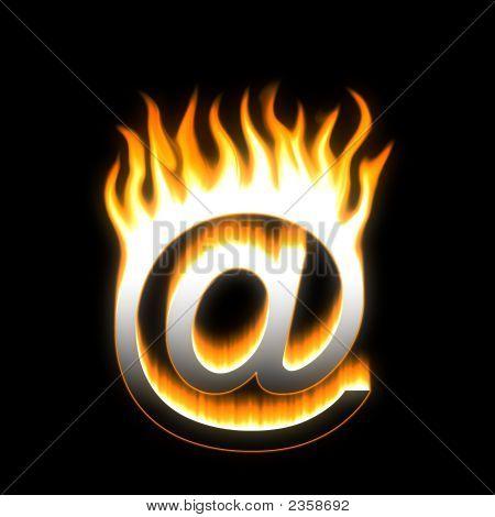 E-Mail! Flaming E-Mail.