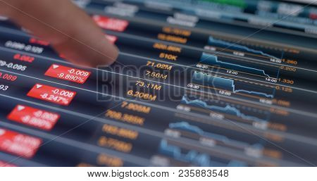 Using tablet computer for stock market