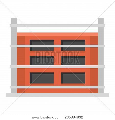 Structure Of House Icon. Flat Illustration Of Structure Of House Vector Icon For Web