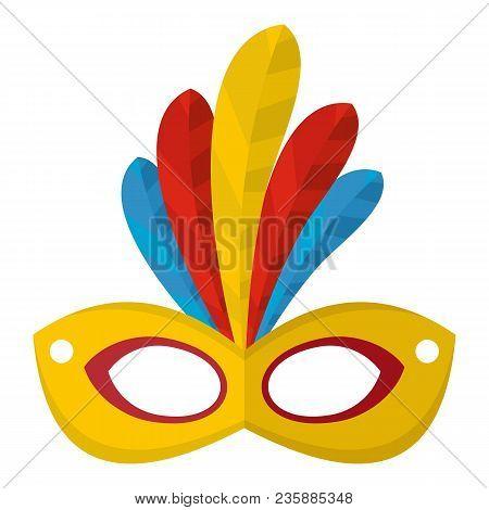 Brazilian Carnival Icon. Flat Illustration Of Brazilian Carnival Vector Icon For Web