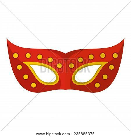 Face Mask Icon. Flat Illustration Of Face Mask Vector Icon For Web