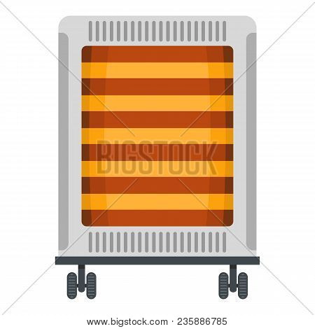 Comfort Heater Icon. Flat Illustration Of Comfort Heater Vector Icon For Web