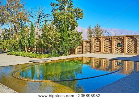 The Shazdeh Or Prince Garden Is The Most Popular Landmark Of Mahan, This Unique Area Among The Deser