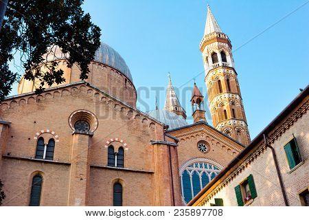 Renaissance Architecture Of Padua. Basilica Of Santa Giustina.