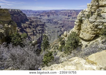 The Depth Of The Expanse Is Truly Experienced As You Hike Down Into The Canyon