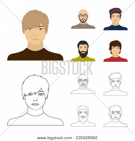 The Face Of A Bald Man With Glasses And A Beard, A Bearded Man, The Appearance Of A Guy With A Haird