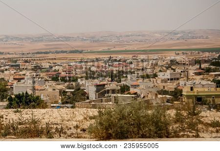 Hura, Israel. July 23, 2012. General View Of The Negev Bedouin Town Hura (houra). It Was Established