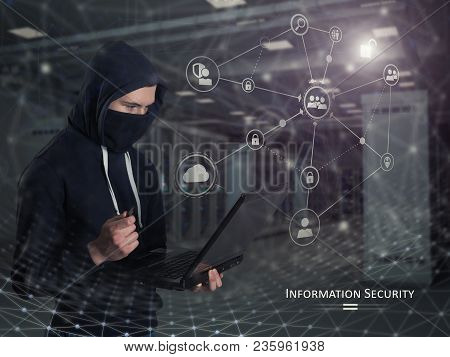 Protect Your Personal Information. Information Security Concept