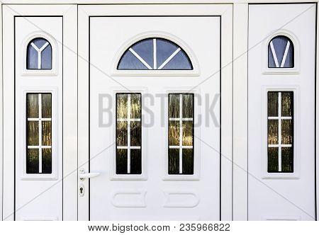 Front Door Pvc, White Plastic Front Door