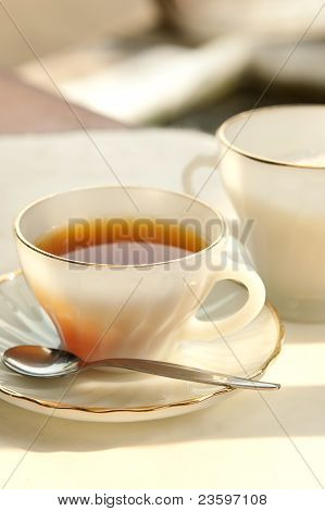 A Cup Of Tea In The Evening
