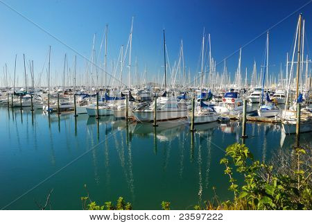 Auckland, city of sails, New Zealand