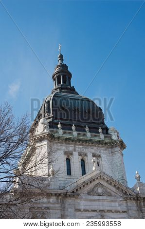Basilica Of St Mary Dome And Cupola In Minneapolis Hennepin County Minnesota