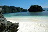Paradise Beach in El Nido Palawan Philippines poster