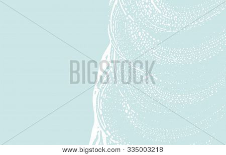 Grunge Texture. Distress Blue Rough Trace. Comely Background. Noise Dirty Grunge Texture. Uncommon A