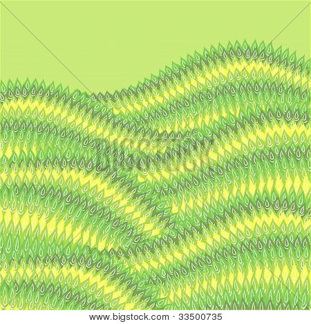 Seamless abstract hand drawn pattern, vector background.