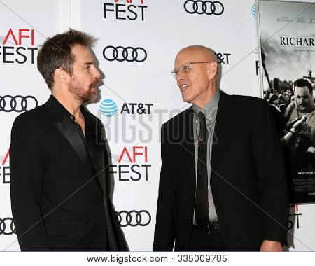 LOS ANGELES - NOV 20:  G Watson Bryant Jr,  Sam Rockwell at the AFI Gala - Richard Jewell Premiere at TCL Chinese Theater IMAX on November 20, 2019 in Los Angeles, CA