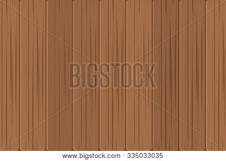 Wood Background, Brown Wood Texture Vector Illustration, Wood Texture Brown Color For Background, Te