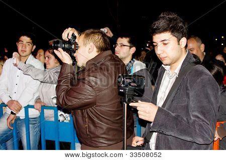 Cameramans record