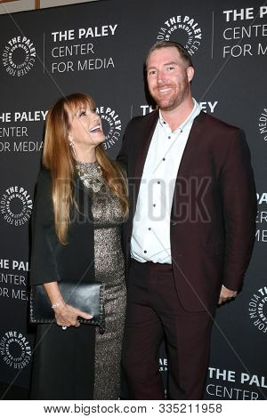LOS ANGELES - NOV 21:  Jane Seymour, Sean Flynn at the The Paley Honors: A Special Tribute To Television's Comedy Legends at Beverly Wilshire Hotel on November 21, 2019 in Beverly Hills, CA