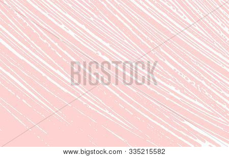 Grunge Texture. Distress Pink Rough Trace. Glamorous Background. Noise Dirty Grunge Texture. Majesti