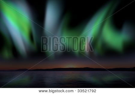 Aurora Borealis, Nice And Powerful