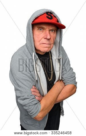 Gangsta Grandpa Is Looking Fierce. He Wears Modern Clothes