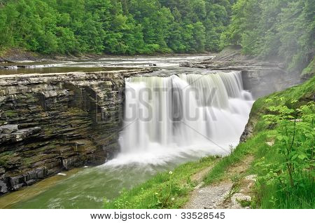 Lower Waterfalls - Letchworth State Park